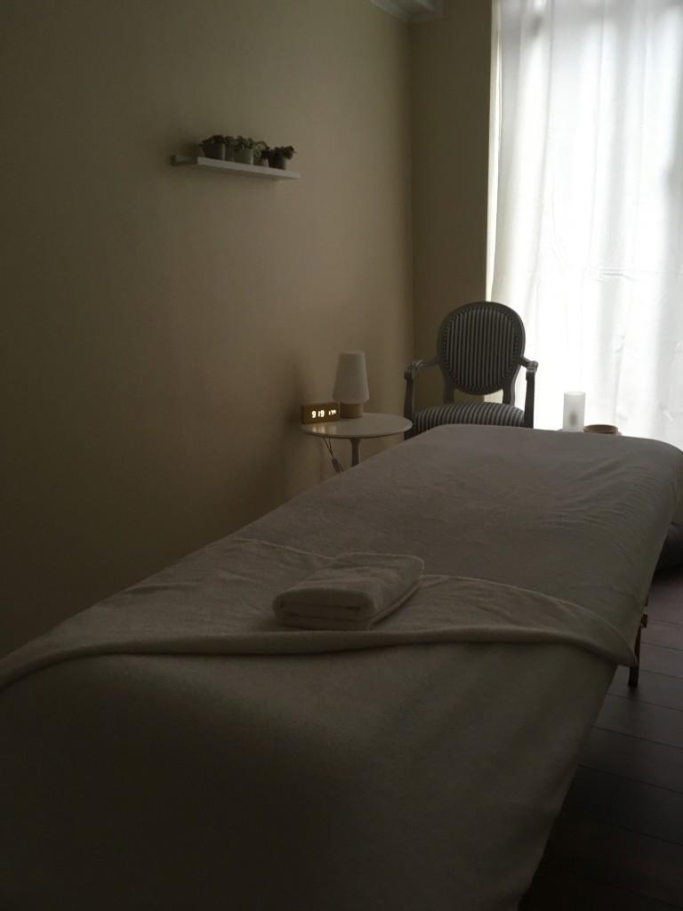 Un massage tout en douceur